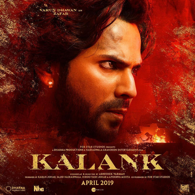 KALANK: Meet FEROCIOUS Zafar aka Varun Dhawan in the upcoming period drama