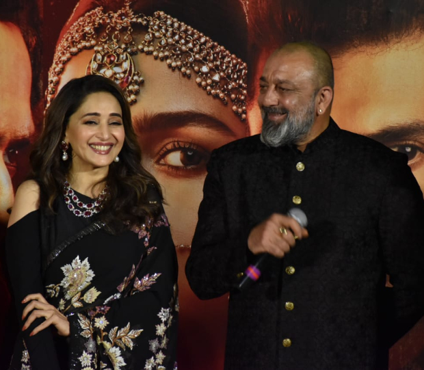 """Kalank Teaser Launch: """"I would want to work more with her"""" - Sanjay Dutt on reuniting Madhuri Dixit after 21 years"""