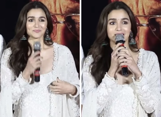"""Kalank: """"This is my ninth film with Dharma"""" - Alia Bhatt gets EMOTIONAL at the teaser launch"""