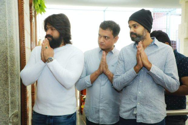 Kannada superstar Yash begins filming for KGF 2 :Latest