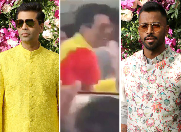 Despite Koffee With Karan 6 controversy, Karan Johar and Hardik Pandya dance their hearts out together at Akash Ambani – Shloka Mehta wedding! [Watch video]