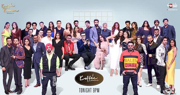 Koffee With Karan 6 Awards – Ajay Devgn walks away with Audi