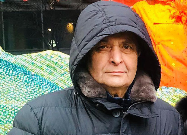 Neetu Kapoor posts a picture of Rishi Kapoor's new look as he undergoes treatment