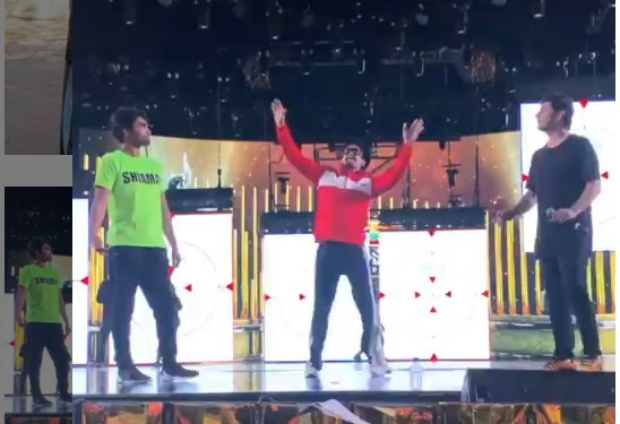 Ranveer Singh Begins Stage Rehearsals On 'ainvayi Ainvayi', All Set To Enthrall The Fans At Filmfare Awards 2019