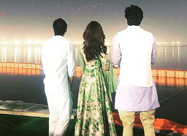 THROWBACK THURSDAY Ayan Mukerji shares a picture from early days of Brahmastra with Alia Bhatt and Ranbir Kapoor