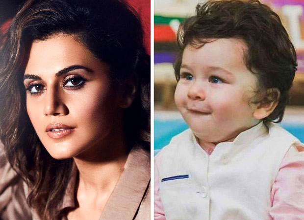 Badla actress Taapsee Pannu CONFESSES that she wants to take Taimur Ali Khan on a date [Watch Video]