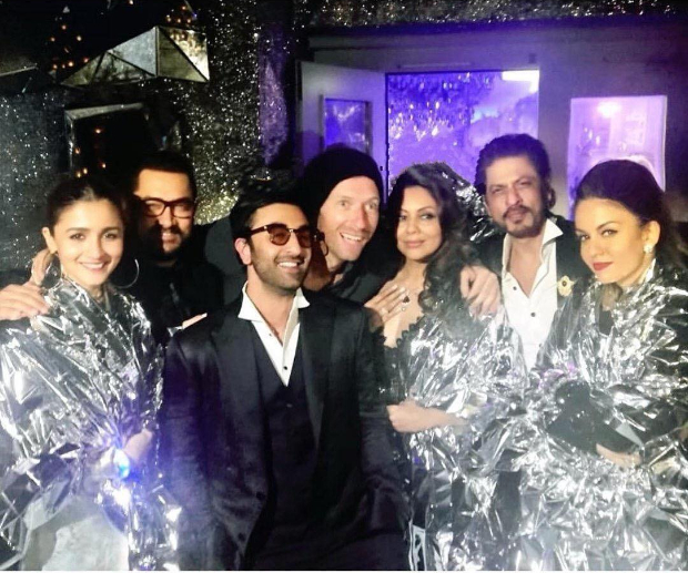 This photo of Alia Bhatt, Ranbir Kapoor, Shah Rukh Khan, Aamir Khan in one frame with Coldplay's Chris Martin is going viral