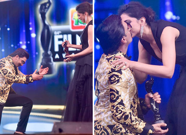 Filmfare Awards 2019: Deep-Veer fans couldn't keep calm after they saw Deepika Padukone KISS Ranveer Singh on stage [Watch video]