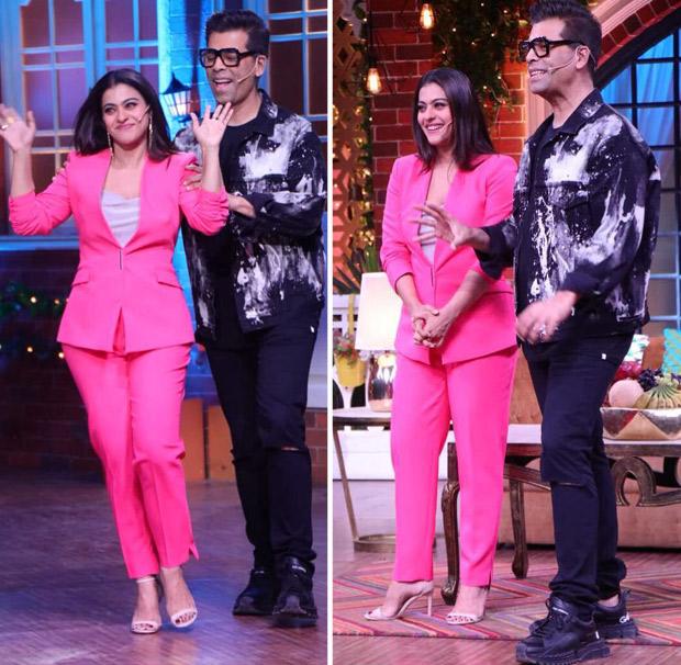 Kajol And Karan Johar Reunite For The Kapil Sharma Show!