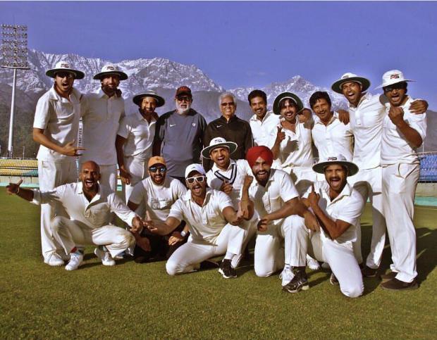 After Kapil Dev, Ranveer Singh and '83 team train under Jimmy aka Mohinder Amarnath at Dharamshala