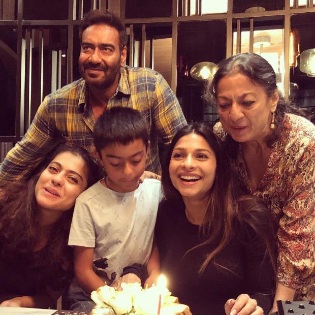 Ajay Devgn turns 50, celebrates his birthday with Kajol, Yug and family