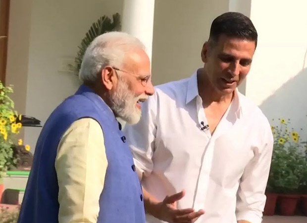 Akshay Kumar's interview with PM Narendra Modi was the PMO's idea