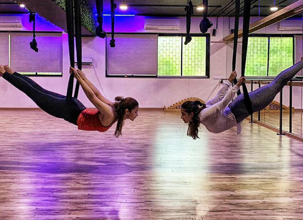 Alia Bhatt Works Out With Malaika Arora And Flies High – Quite Literally!