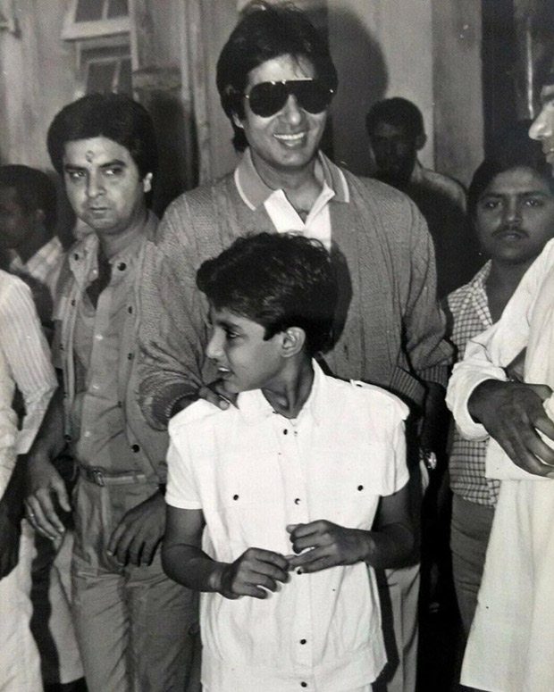 Create A Feeling Of Nostalgia: This Throwback Photo Of Abhishek Bachchan Along With His