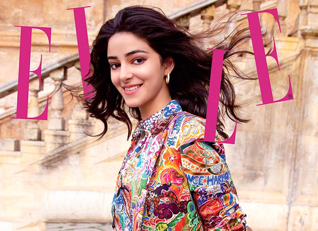 Ananya Panday features on the cover of Elle magazine and the netizens can't stop gushing over the pictures!