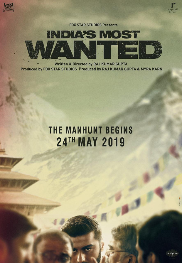 Arjun Kapoor starrer India's Most Wanted teaser to be out on April 16, will be attached to Varun Dhawan's Kalank