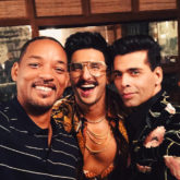 Bucket List: Will Smith gets Bollywood lessons from Ranveer Singh and Karan Johar, dances on recreated version of 'Radha' song in Student Of The Year 2