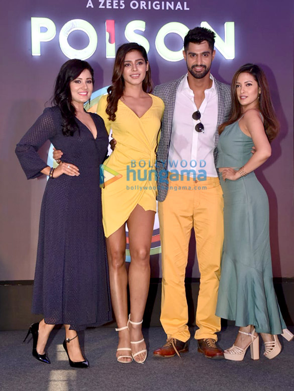 Celebs grace the launch of the Zee5 web series Poison (1