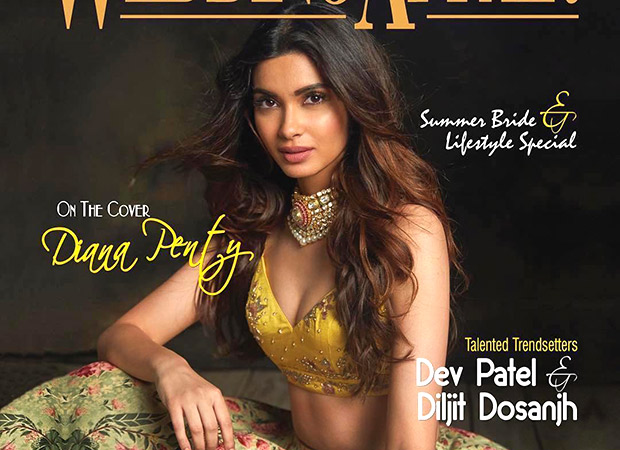 Diana Penty looks like a sight for sore eyes on the cover of Wedding Affair magazine