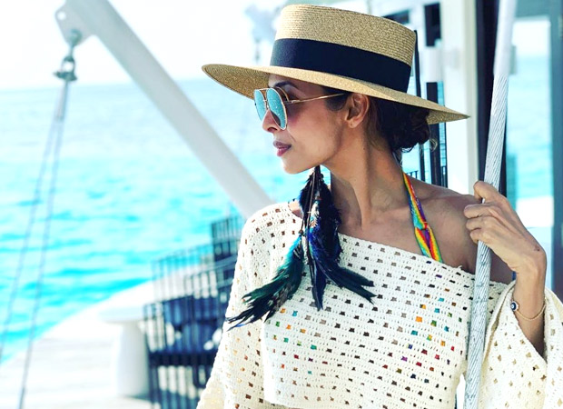 HOT ALERT! Malaika Arora's pictures swimming in the middle of the ocean are going to make your weekend better!