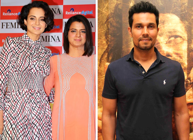 Kangana Ranaut's sister Rangoli Chandel lashes out at Randeep Hooda for coming out in support of Alia Bhatt