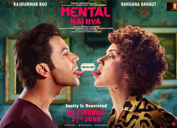 Kangana Ranaut and Rajkummar Rao starrer Mental Hai Kya to release on June 21, 2019