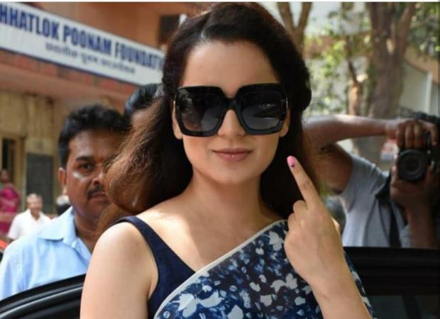 Lok Sabha Elections 2019: Kangana Ranaut takes a jibe at Congress