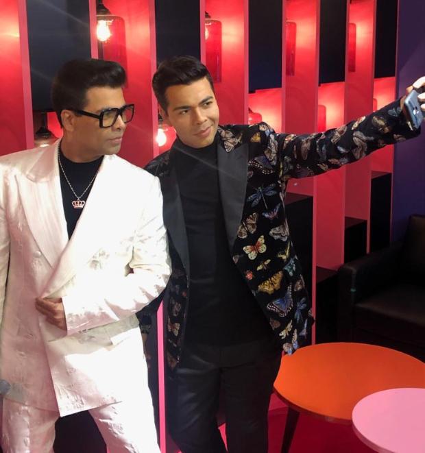 Karan Johar unveils his wax statue at Madame Tussauds in Singapore