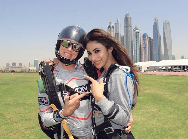 Dubai Travel Diaries: Brahmastra actress Mouni Roy shares a THROWBACK about her sky-diving experience that will make you wanna go on an adventure RIGHT NOW!