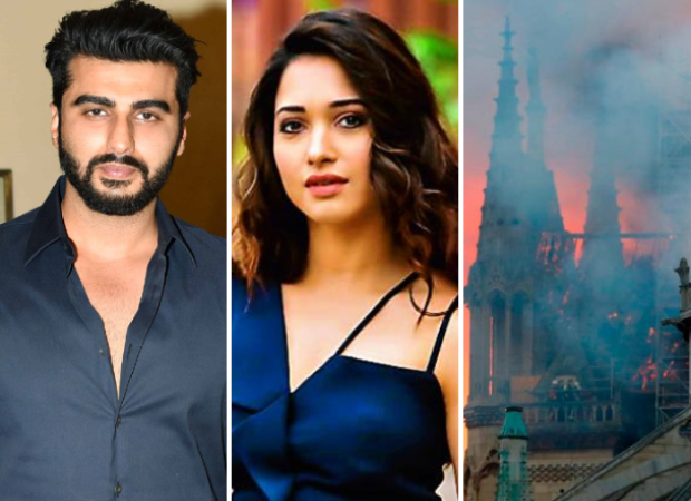 Notre Dame Fire: Arjun Kapoor, Tamannaah Bhatia, Nimrat Kaur and other Bollywood celebs REACT to the cathedral burning into flames