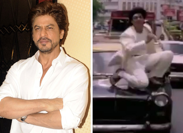 Woah! Shah Rukh Khan has the sweetest response to his fan who appreciates his dangerous stunt in Anjaam