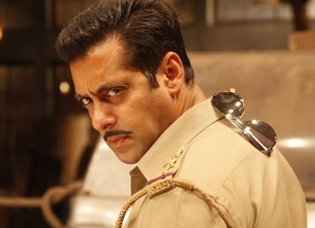 Salman Khan shares a handsome picture from the sets of Dabangg 3