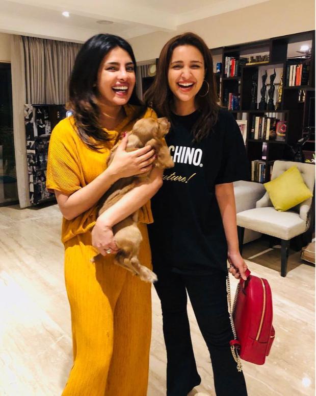Sisters Priyanka Chopra and Parineeti Chopra reunite, introduce their new family member