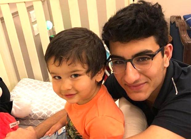 CUTE ATTACK! Taimur Ali Khan cuddles with big bro Ibrahim, melts Sara Ali Khan's heart (see pic)