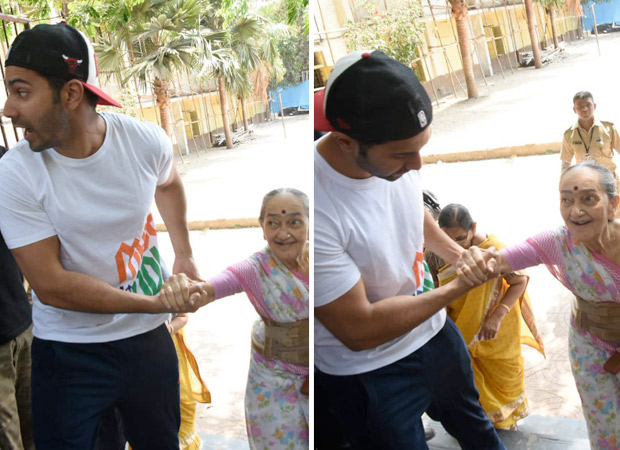Lok Sabha Elections 2019: This Sweet Gesture Of Varun Dhawan At The Voting Booth Leaves His Fans Impressed