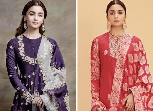 What's Your Pick Alia Bhatt in a purple Anamika Khanna or a red Ekaya