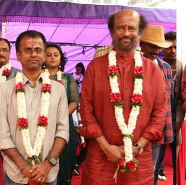 Woah! Rajinikanth starrer Darbar goes on floor after the makers release the first look