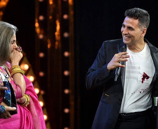 When Akshay Kumar scared Dimple Kapadia with his blood stained shirt at HT Most Stylish Awards 2019
