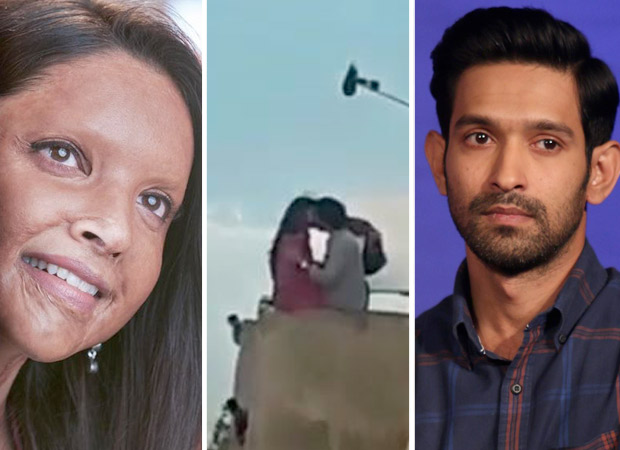 LEAKED! This video of Deepika Padukone and Vikrant Massey kissing in Chhapaak goes viral