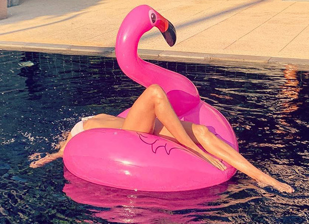 Super Sensuous Lisa Haydon Dives Into A Pool In A Pristine White Bikini, Gives Chilled Out Weekend Goals