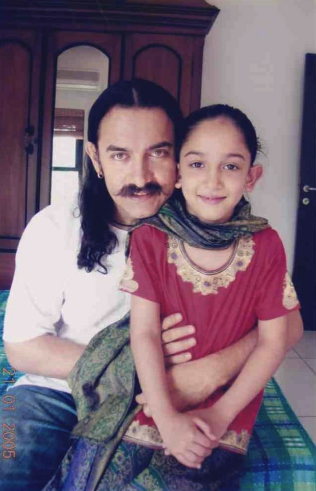 Aamir Khan shares a childhood photo of daughter Ira Khan on her 21st birthday