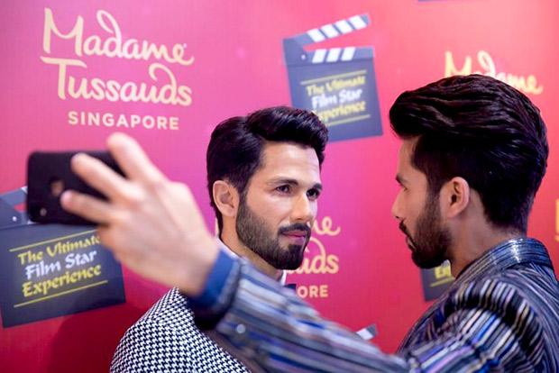 Ahead of Kabir Singh, Shahid Kapoor unveils his wax figure at Madame Tussauds