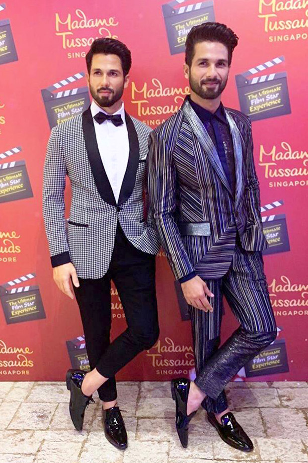 Ahead Of Kabir Singh, Shahid Kapoor Unveils His Wax Figure At Madame Tussauds