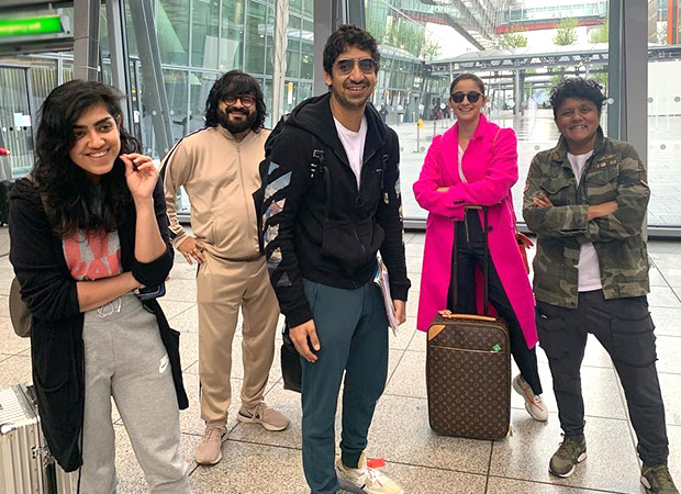 Ayan Mukerji heads to London with Alia Bhatt and team Brahmastra