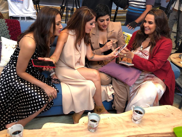 Bffs With Vogue: Sonali Bendre, Sussanne Khan, Gayatri Oberoi Have A Gala Time With Neha Dhupia
