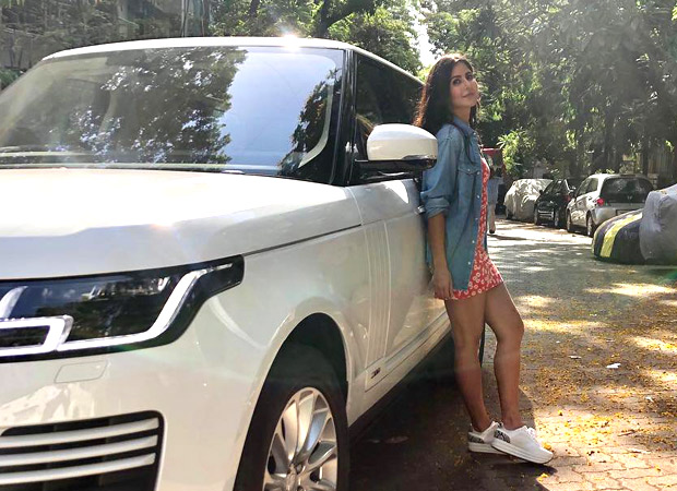 Beauty And Her Beast: Katrina Kaif Strikes A Pose With Her Brand New Range Rover