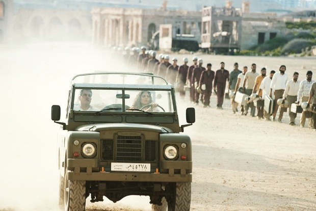 Bharat: Katrina Kaif looks fierce while driving classic 1960s Land Rover in behind the scenes photo