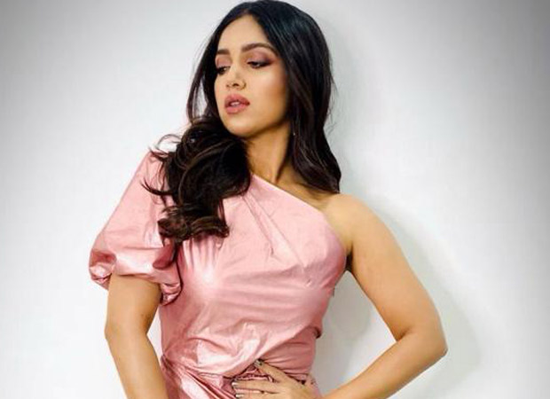 Bhumi Pednekar Rocks The Rose Gold Metallic Outfit For Saand Ki Aankh Wrap Party!