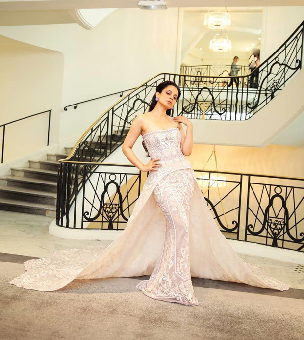 Cannes 2019 Day 2: Kangana Ranaut mesmerizes with an elegant princess style white gown