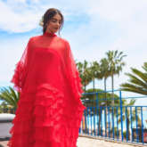 Cannes 2019 Day 5 Sonam Kapoor is blazing red, boho-chic diva in a Maison Valentino creation